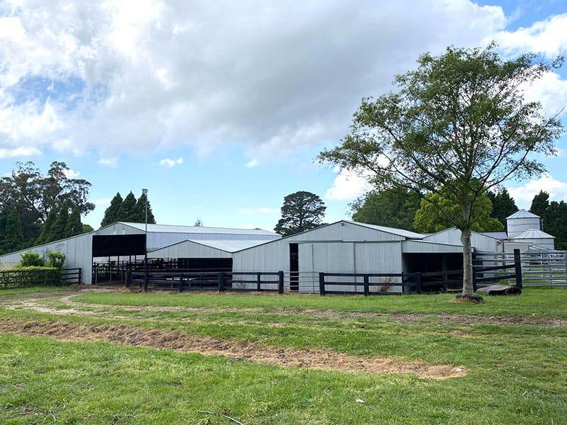 Bundanoon cattle sheds outside